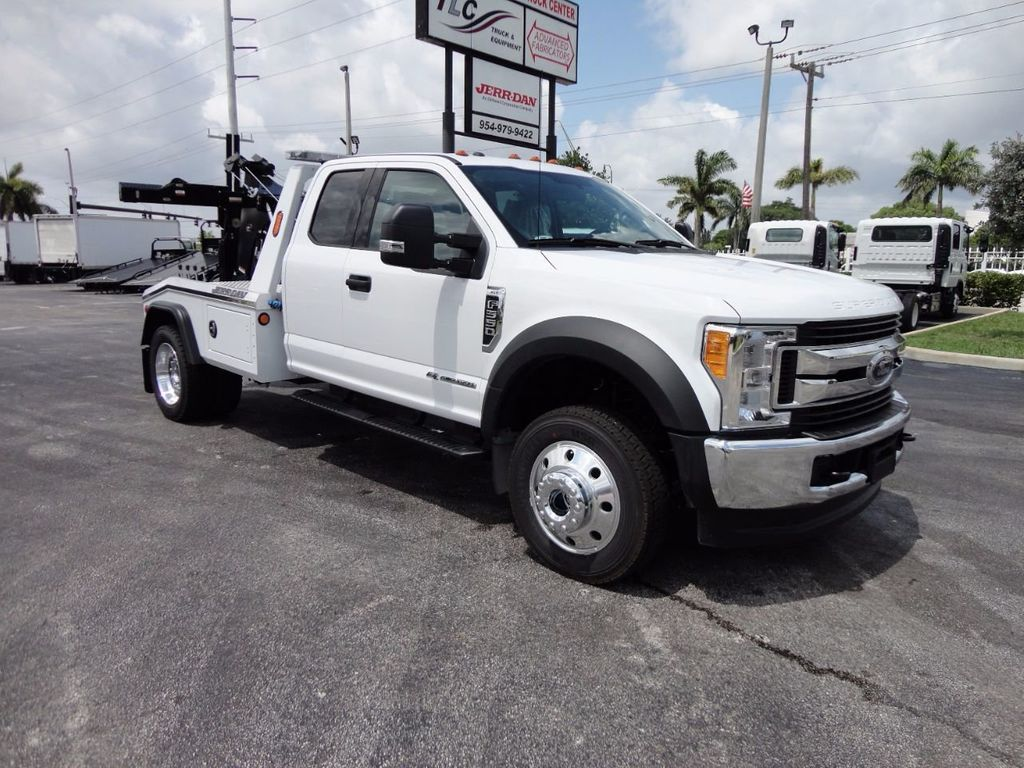 2017 Ford F550 XLT. 4X4 EXENTED CAB..JERR-DAN MPL40 WRECKER. - 16495410 - 24
