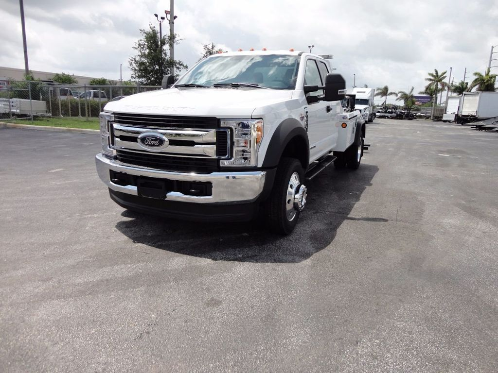 2017 Ford F550 XLT. 4X4 EXENTED CAB..JERR-DAN MPL40 WRECKER. - 16495410 - 4