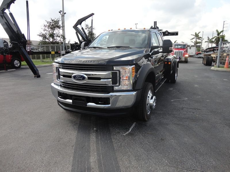 2017 Ford F550 XLT. 4X4 EXENTED CAB..JERR-DAN MPL40 WRECKER. - 16857879 - 3