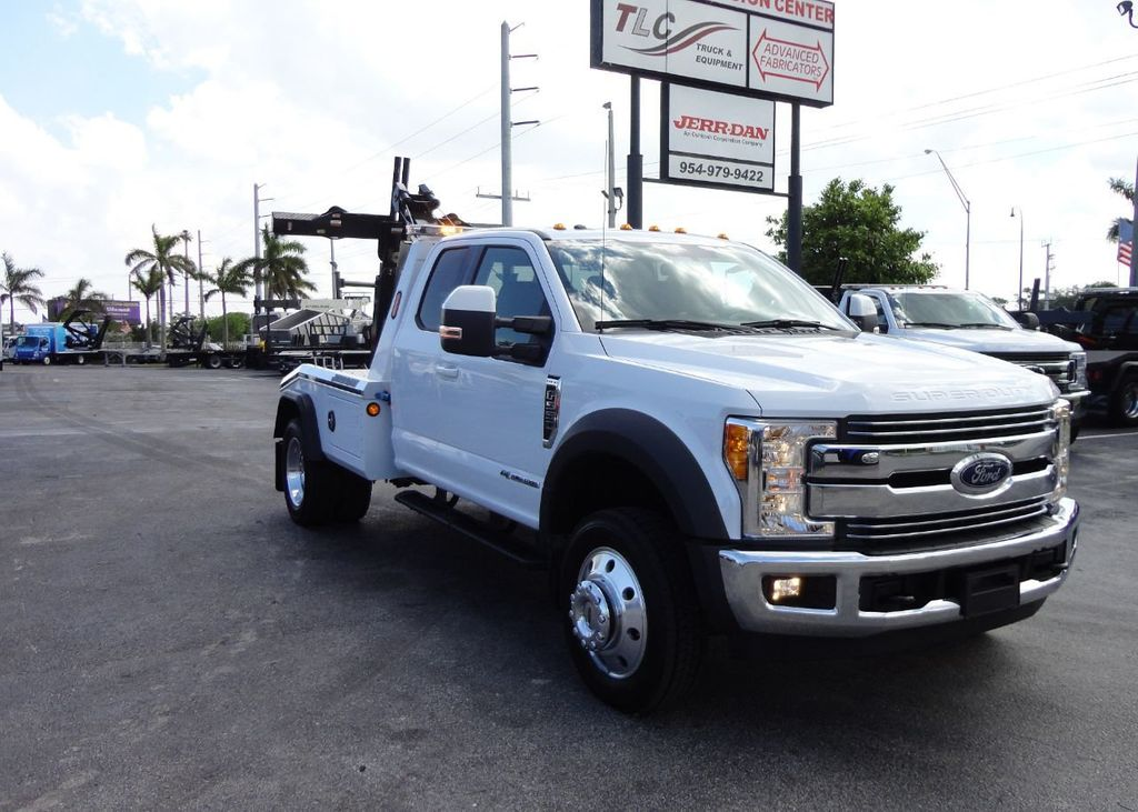 2017 Ford F550 XLT. LARIAT. 4X2 EXENTED CAB..JERRDAN MPL40 WRECKER TOW - 17644504 - 9
