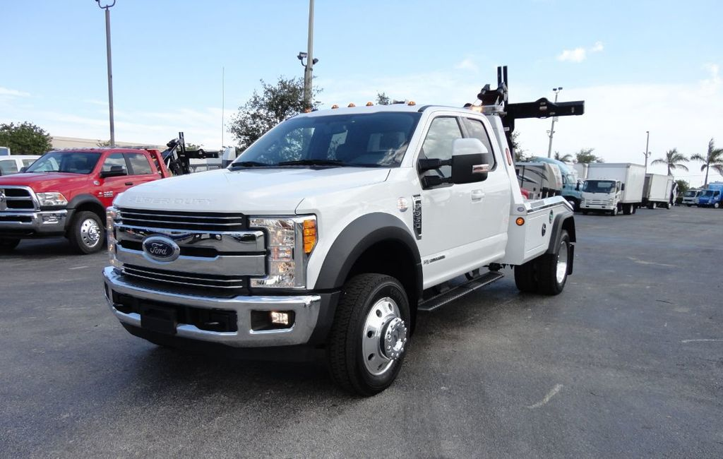 2017 Ford F550 XLT. LARIAT. 4X2 EXENTED CAB..JERRDAN MPL40 WRECKER TOW - 17644504 - 1