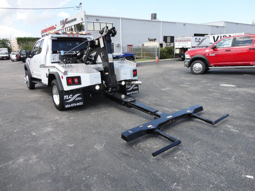 2017 Ford F550 XLT. LARIAT. 4X2 EXENTED CAB..JERRDAN MPL40 WRECKER TOW - 17644504 - 21