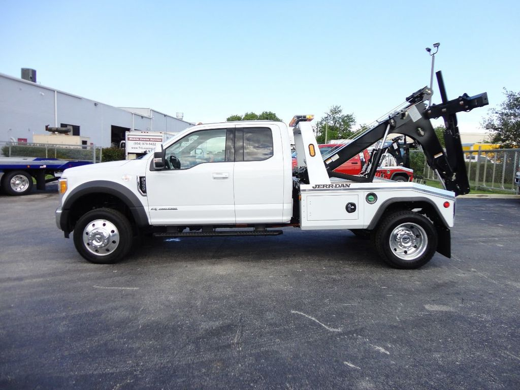 2017 Ford F550 XLT. LARIAT. 4X2 EXENTED CAB..JERRDAN MPL40 WRECKER TOW - 17644504 - 2