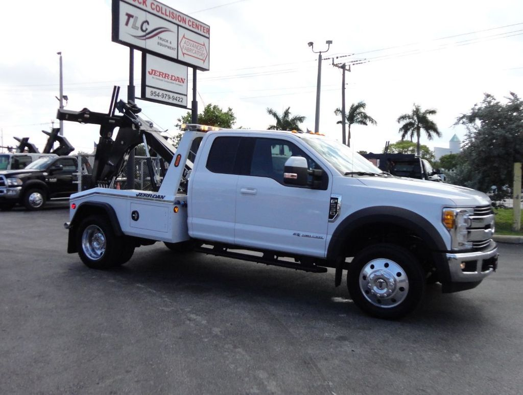 2017 Ford F550 XLT. LARIAT. 4X2 EXENTED CAB..JERRDAN MPL40 WRECKER TOW - 17644504 - 8
