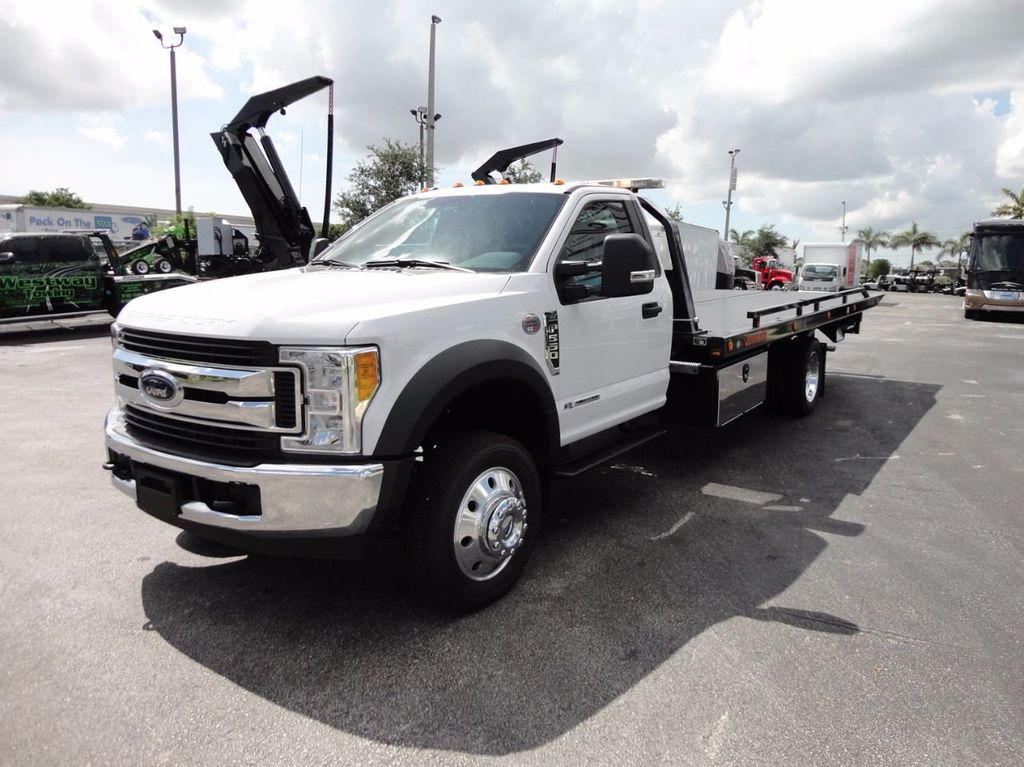 2017 Ford F550 XLT PLUS....4X2..ALUM WHEELS..20SRR6T-LPW.. JERRDAN - 16736076 - 0