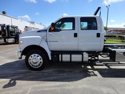 2017 Ford F650 CREW CAB..22FT XLP-6  JERRDAN ROLL-BACK SHARK.AIR RIDE. - Click to see full-size photo viewer