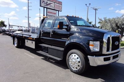 New 2017 Ford F650 CREW CAB..22FT XLP-6 (LCG) JERRDAN ROLL-BACK.AIR RIDE.