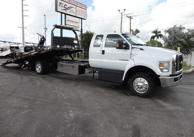 New 2017 Ford F650 SUPER CAB..22FT XLP-6 (LCG) JERRDAN ROLL-BACK.AIR RIDE.