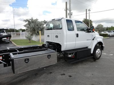 2017 Ford F650 SUPER CAB..22FT XLP-6 (LCG) JERRDAN ROLL-BACK.AIR RIDE. - Click to see full-size photo viewer