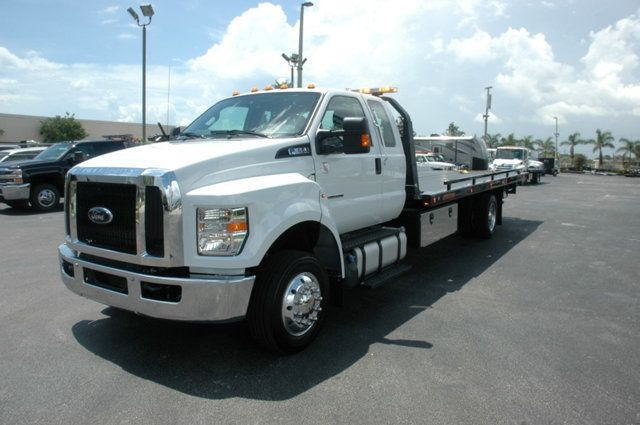 2017 Ford F650 SUPER CAB..22FT XLP-6 (LCG) JERRDAN ROLL-BACK.AIR RIDE. - 15289680 - 9