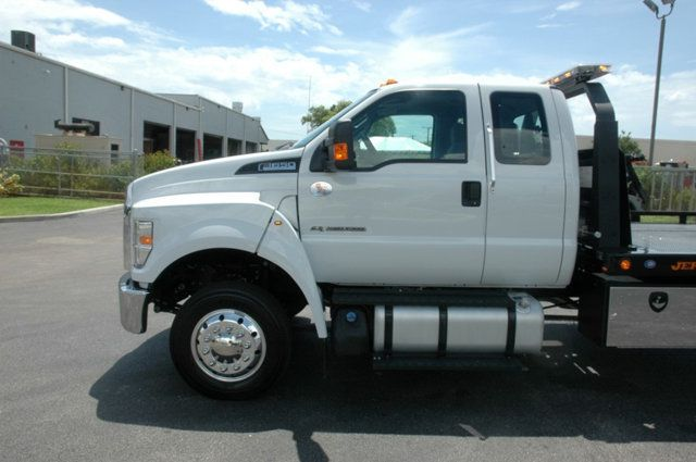 2017 Ford F650 SUPER CAB..22FT XLP-6 (LCG) JERRDAN ROLL-BACK.AIR RIDE. - 15289680 - 10