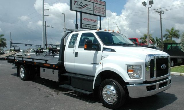 2017 Ford F650 SUPER CAB..22FT XLP-6 (LCG) JERRDAN ROLL-BACK.AIR RIDE. - 15289680 - 1