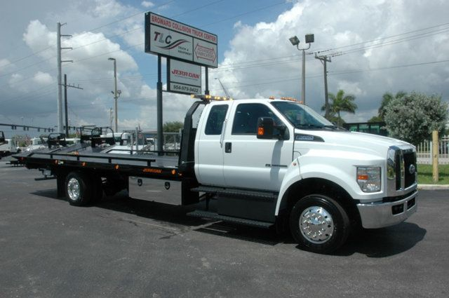 2017 Ford F650 SUPER CAB..22FT XLP-6 (LCG) JERRDAN ROLL-BACK.AIR RIDE. - 15289680 - 2
