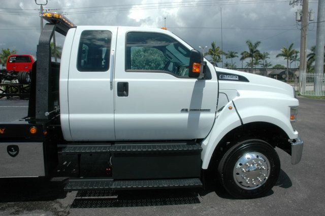 2017 Ford F650 SUPER CAB..22FT XLP-6 (LCG) JERRDAN ROLL-BACK.AIR RIDE. - 15289680 - 4