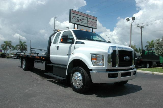 2017 Ford F650 SUPER CAB..22FT XLP-6 (LCG) JERRDAN ROLL-BACK.AIR RIDE. - 15289680 - 5