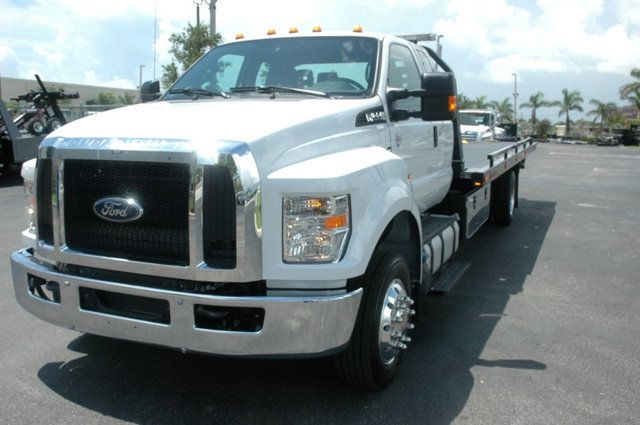2017 Ford F650 SUPER CAB..22FT XLP-6 (LCG) JERRDAN ROLL-BACK.AIR RIDE. - 15289680 - 8