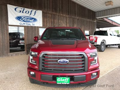 2017 Ford F-150 Lariat 4WD SuperCrew 5.5' Box - Click to see full-size photo viewer