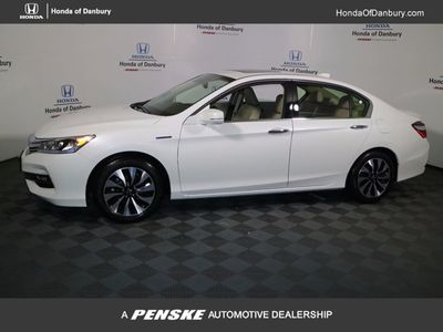 New 2017 Honda Accord Hybrid Sedan