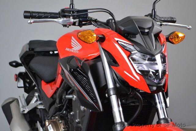 2017 Honda CB500F ABS model!