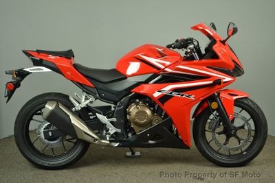 2017 Honda CBR500R NEW! - Click to see full-size photo viewer