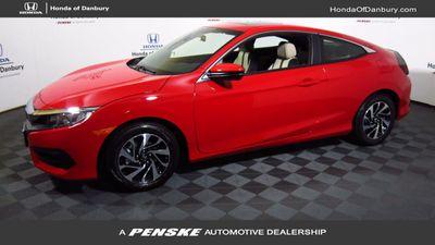 New 2017 Honda Civic Coupe LX-P CVT
