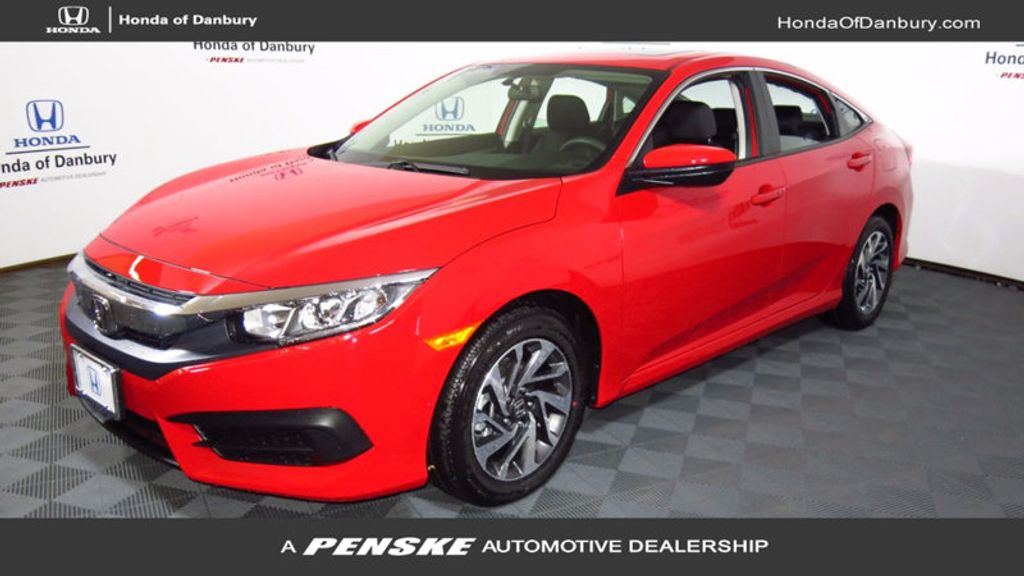2017 Honda Civic Hatchback EX CVT - 16618897 - 0