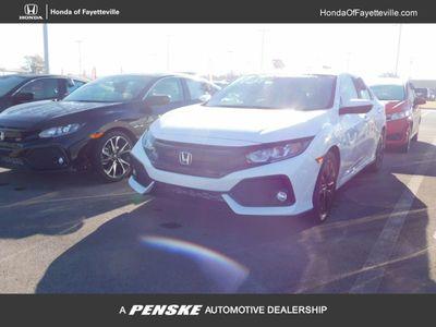 New 2017 Honda Civic Hatchback EX CVT Sedan
