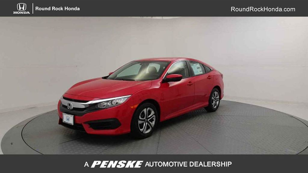 2017 Honda Civic Sedan LX CVT - 16618694 - 0
