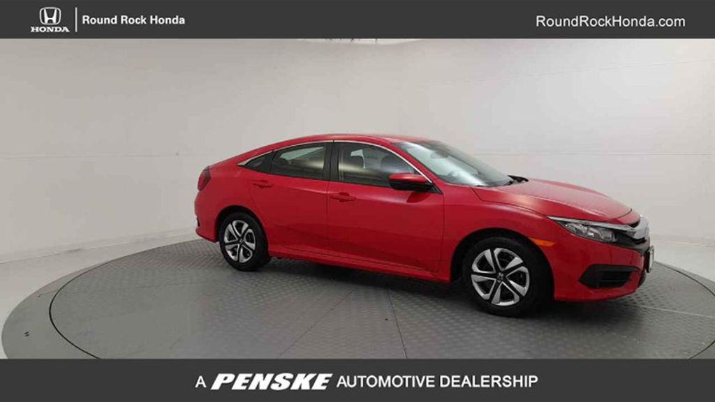 2017 Honda Civic Sedan LX CVT - 16618694 - 7