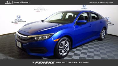 New 2017 Honda Civic Sedan LX Manual
