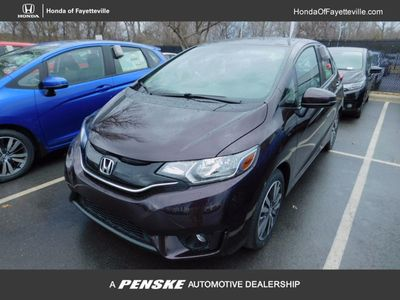 New 2017 Honda Fit EX-L CVT Sedan