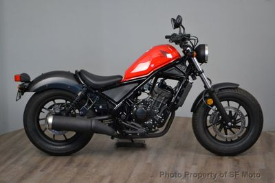 2017 Honda Rebel 300 - Click to see full-size photo viewer