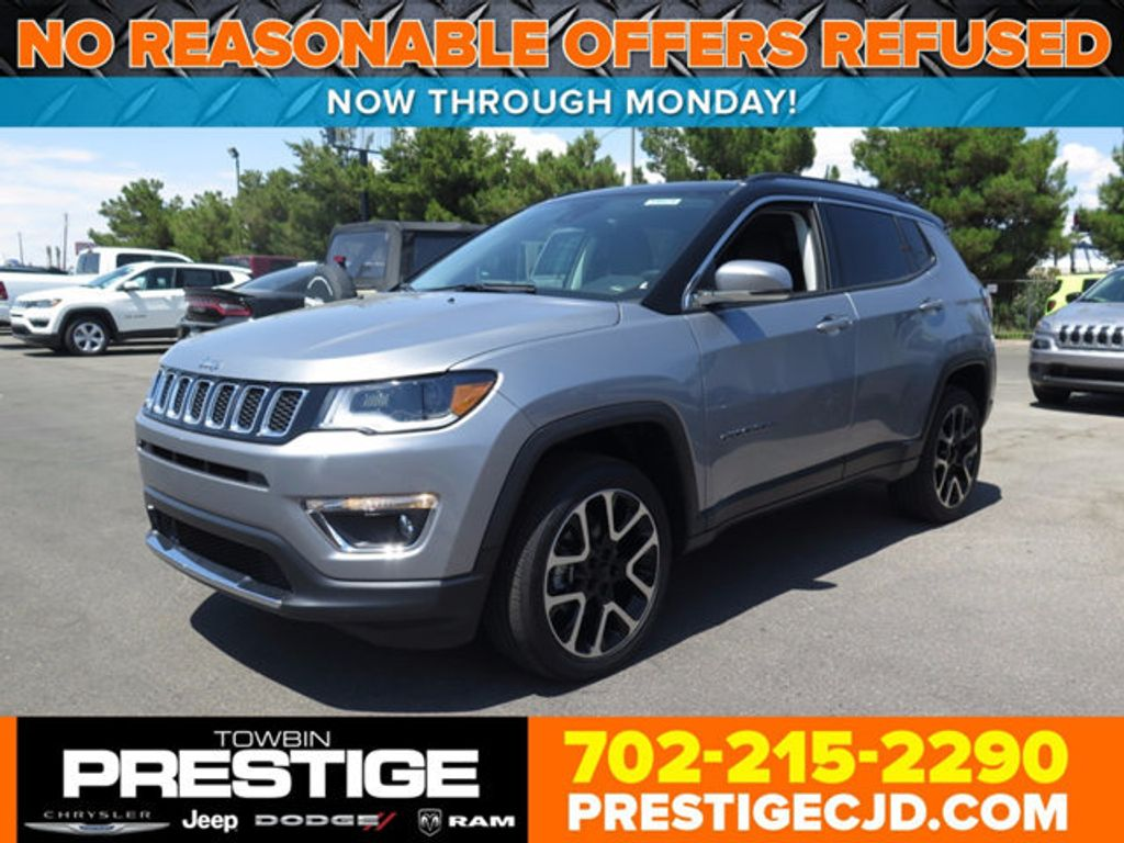 2017 Jeep Compass Limited 4x4 - 16731953 - 0