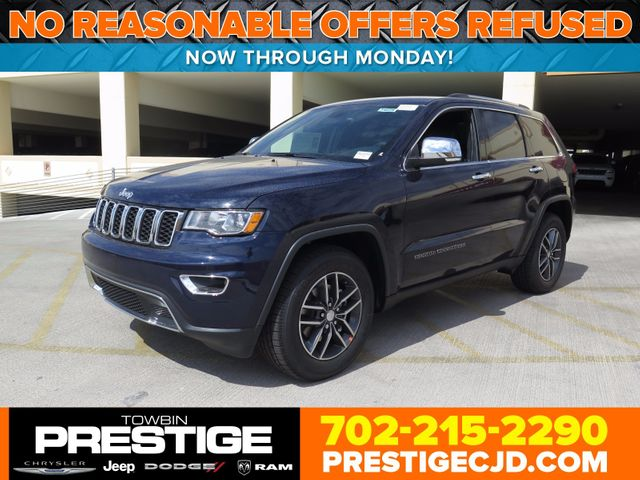 2017 Jeep Grand Cherokee Limited 4x2 Suv 1c4rjebg9hc965283 0