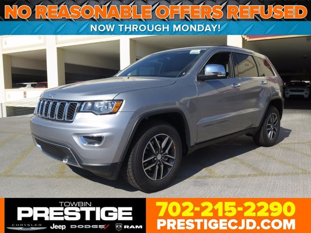 2017 Jeep Grand Cherokee Limited 4x2 Suv 1c4rjebg7hc965282 0