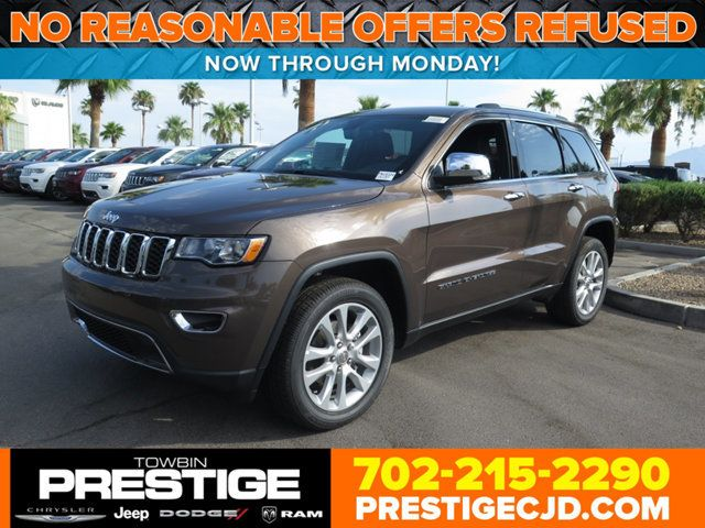 2017 Jeep Grand Cherokee Limited 4x4 Suv For Las Vegas Nv
