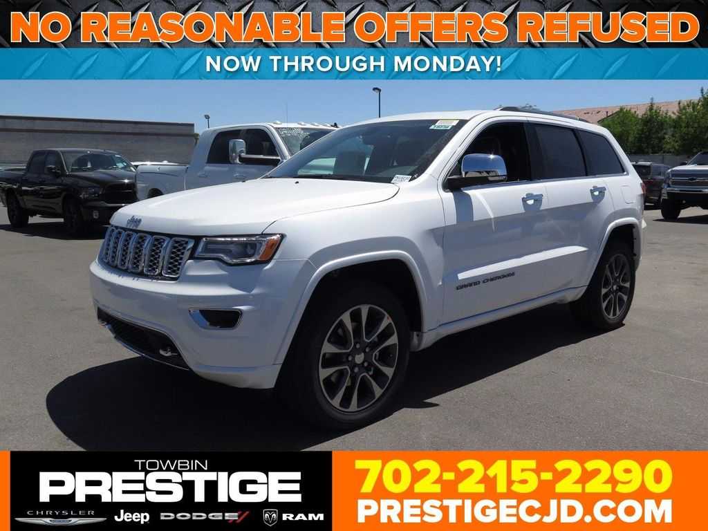 2017 New Jeep Grand Cherokee Overland 4x4 At Prestige Chrysler