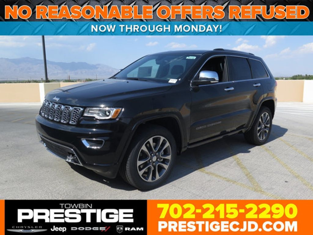 2017 new jeep grand cherokee overland 4x4 at towbin dodge 2 serving henderson nv iid 16731885. Black Bedroom Furniture Sets. Home Design Ideas