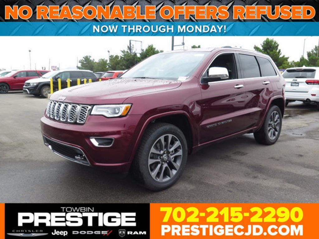 2017 Jeep Grand Cherokee Overland 4x4 Suv For In Las Vegas