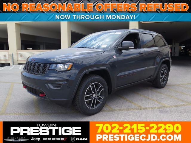 2017 New Jeep Grand Cherokee Trailhawk 4x4 At Prestige Chrysler Dodge Serving Las Vegas Nv Iid 16731851