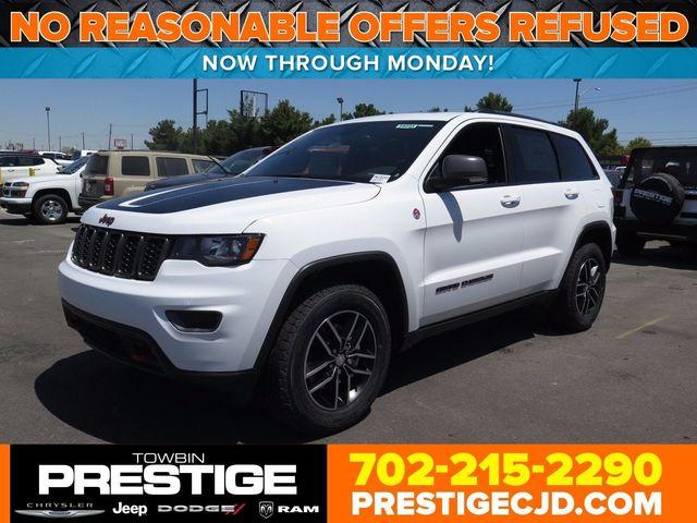 2017 New Jeep Grand Cherokee Trailhawk 4x4 At Prestige Chrysler Dodge Serving Las Vegas Nv Iid 16731866