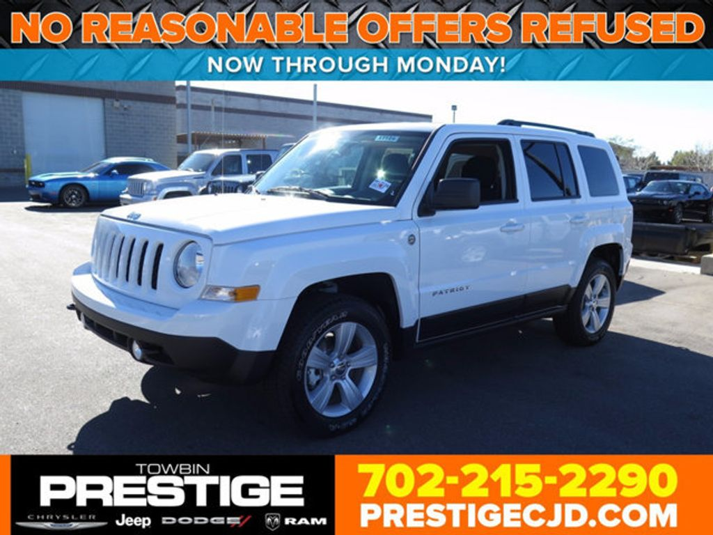 2017 Jeep Patriot Sport 4x4 Not Specified For Las Vegas Nv