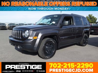 2017 Jeep Patriot - 1C4NJPBBXHD158067
