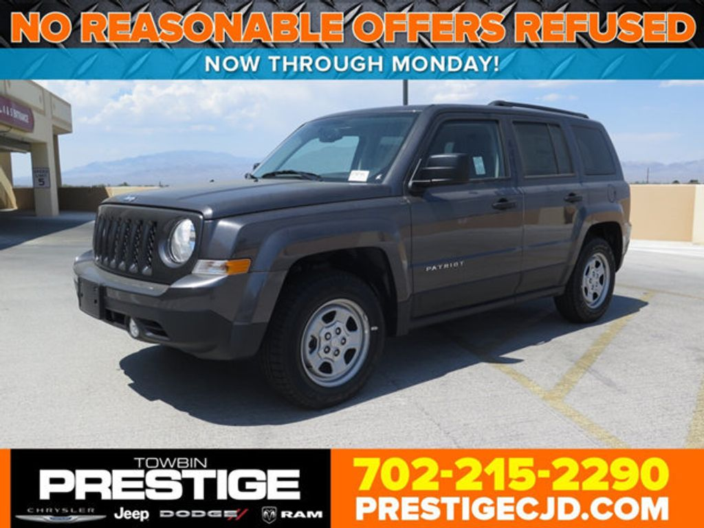 2017 New Jeep Patriot Sport Fwd At Prestige Chrysler Dodge