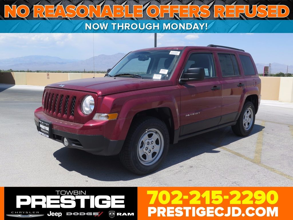 2017 Jeep Patriot Sport Fwd Not Specified 1c4njpba5hd213032 0