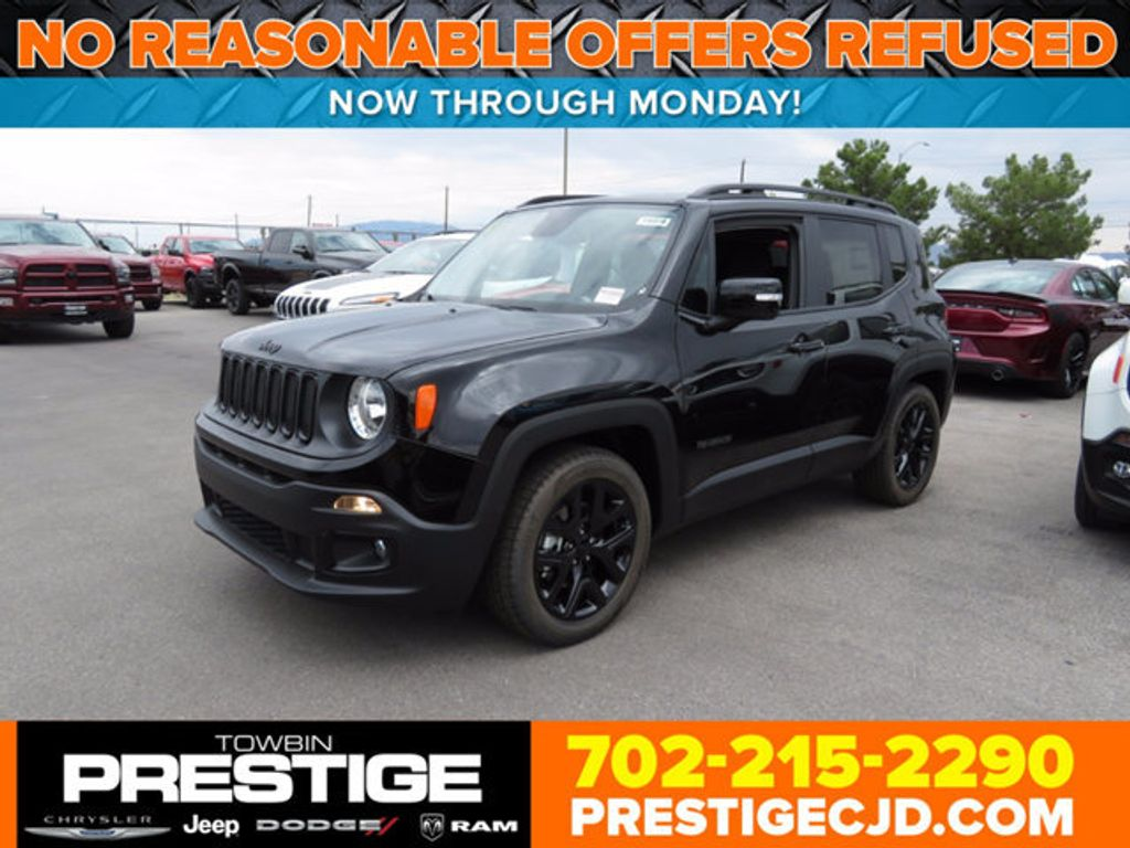 2017 Jeep Renegade Altitude FWD - 16785514 - 0