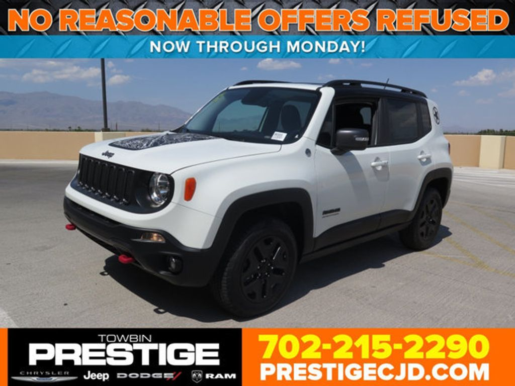 New Jeep Renegade Deserthawk X on 2015 Jeep Laude Renegade