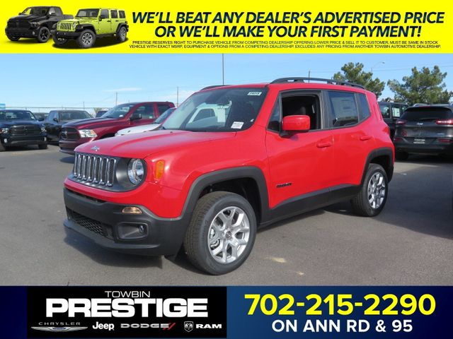 2017 New Jeep Renegade Latitude 4x4 at Prestige Chrysler Jeep Dodge