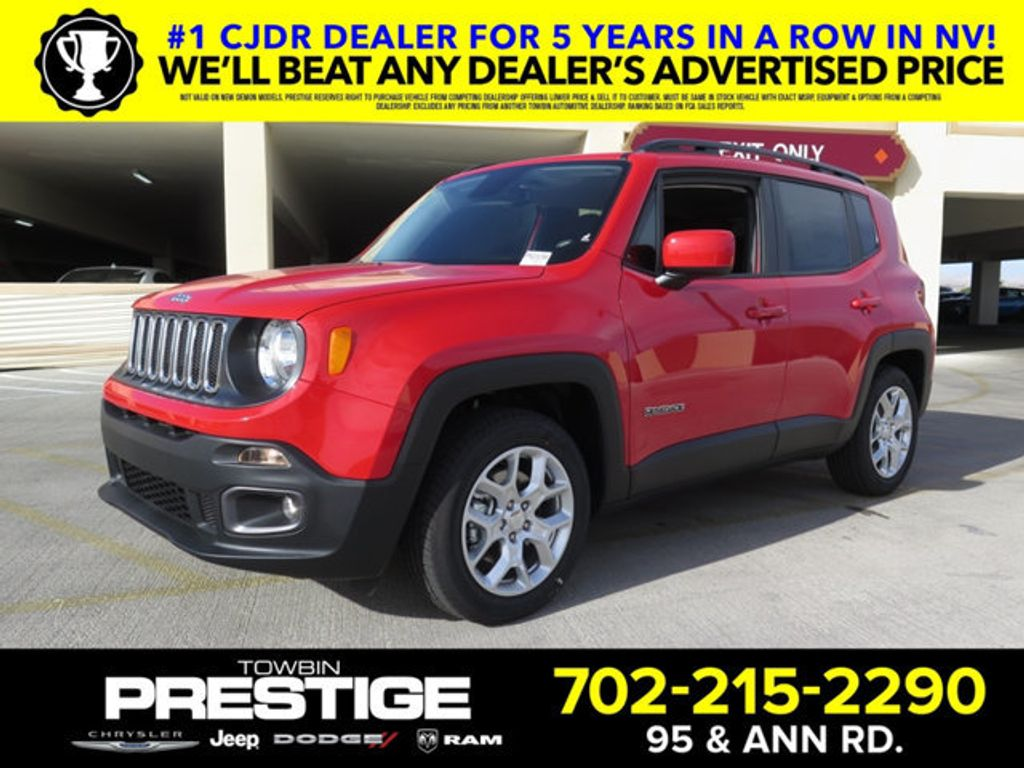 2017 Jeep Renegade Laude Fwd 17208325 0