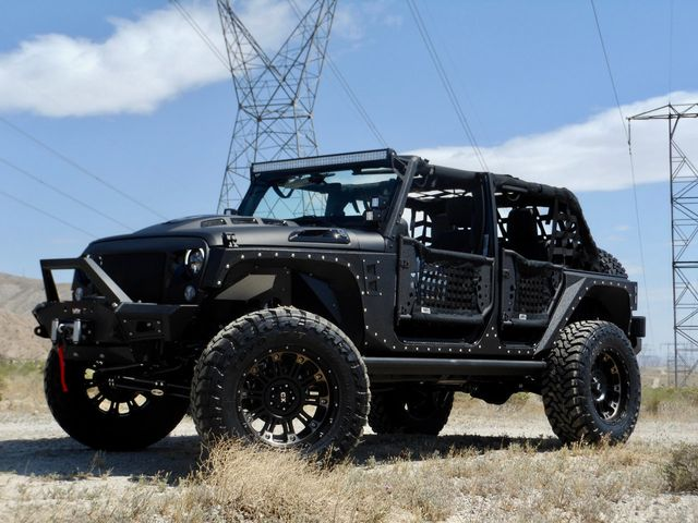 2017 New Jeep Wrangler Unlimited CUSTOM LIFTED 4X4 WINCH ...